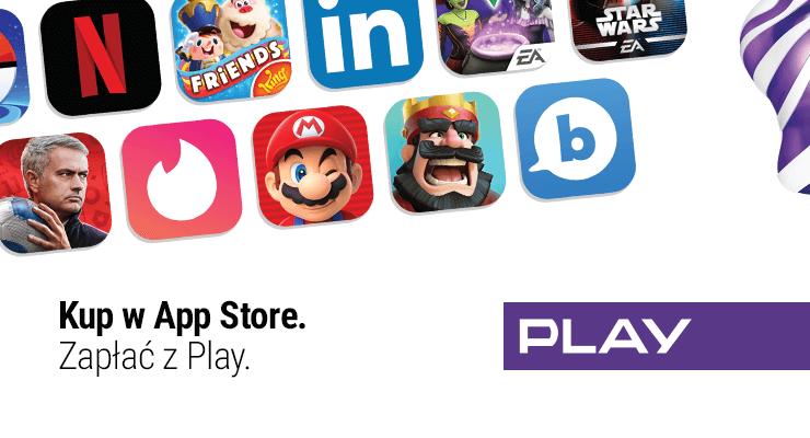 """""""Zapłać z Play"""" w sklepie App Store, iTunes i Apple Music"""
