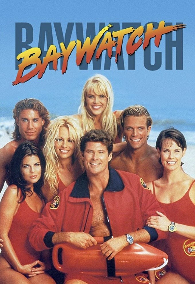 "Oryginalny plakat serialu ""Baywatch"""