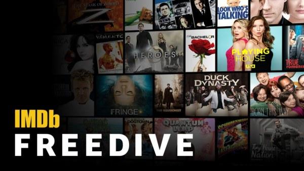 IMDb Freedive to nowa usługa VOD z filmami za obejrzenie reklam