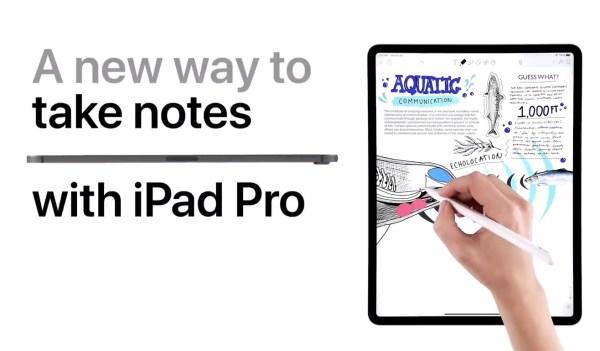 Apple pokazuje na filmach, co można robić na iPadzie Pro?