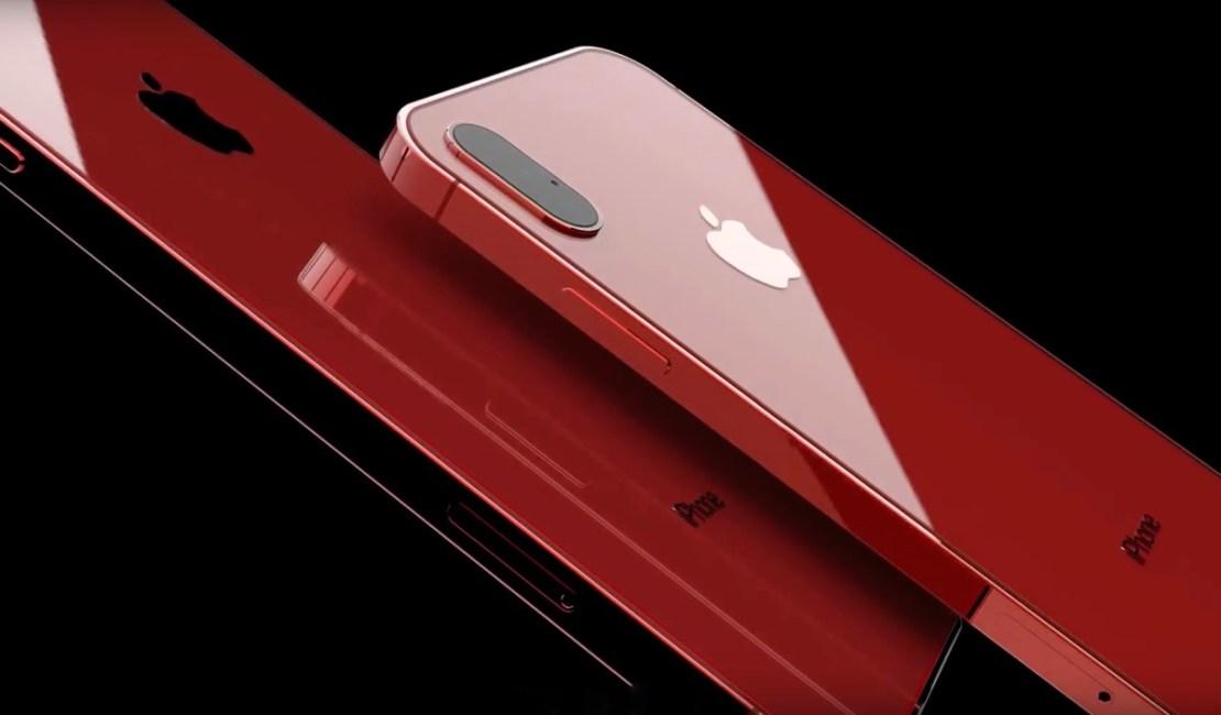 Koncepcja iPhone'a 11 z potrójną kamerą