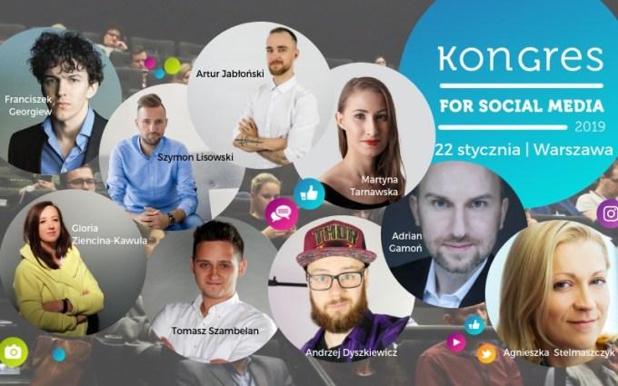 Kongres For Social Media (22 stycznia 2019 r. Warszawa)