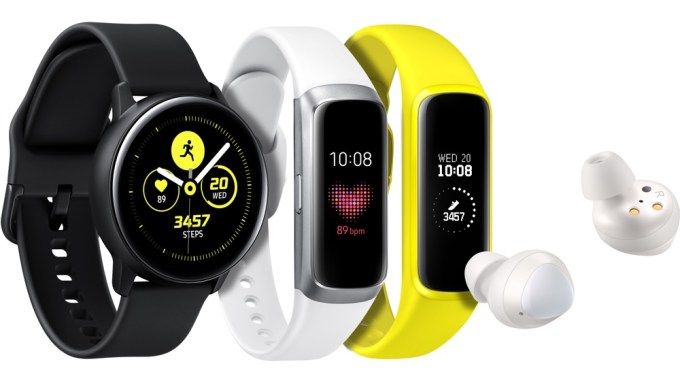 Galaxy Watch Active, Galaxy Fit i Galaxy Buds