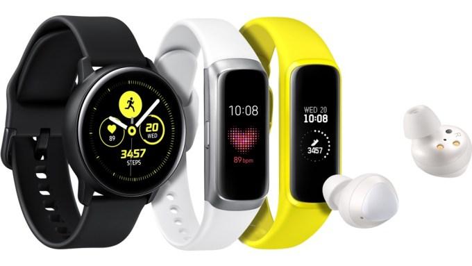 Galaxy Watch Active, Galaxy Fit i Galaxy Buds