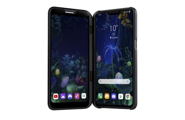 Smartfony od LG na 2019 rok: składany LG V50 ThinQ 5G i LG G8 ThinQ