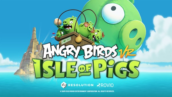 "Gra ""Angry Birds VR: Isle of Pigs"" trafia na HTC Vive i Oculus Rift"