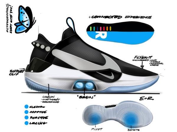 Buty Nike Adapt BB z zaawansowanym oprogramowqniem i aplikacją