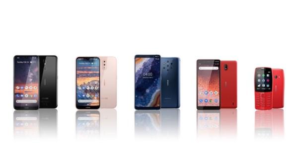 Nokia zaprezentowała nowe smartfony Nokia 9 Pureview, 4.2, 3.2, 1 Plus i 210