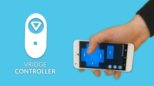 Użyj telefonu jako kontrolera VR z appką VRidge!