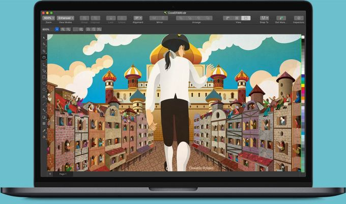 CorelDRAW 2019 dla komputerów Mac