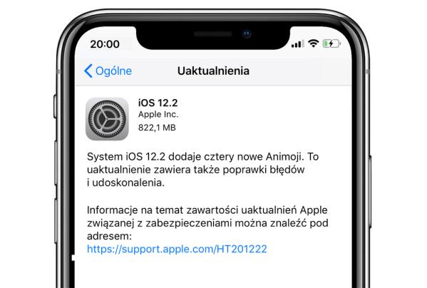 Oto wszystkie nowości w systemie iOS 12.2