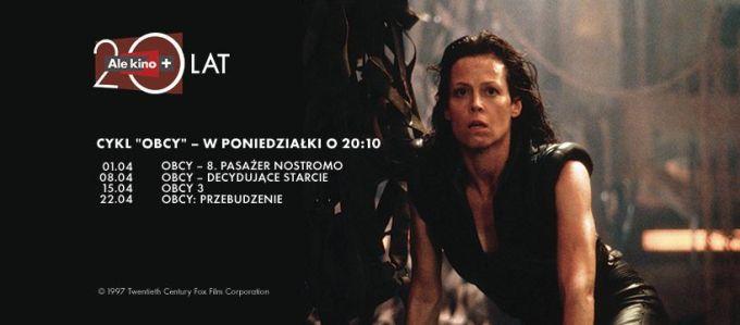 """""""Obcy"""" w Ale kino+ (kwiecień 2019)"""