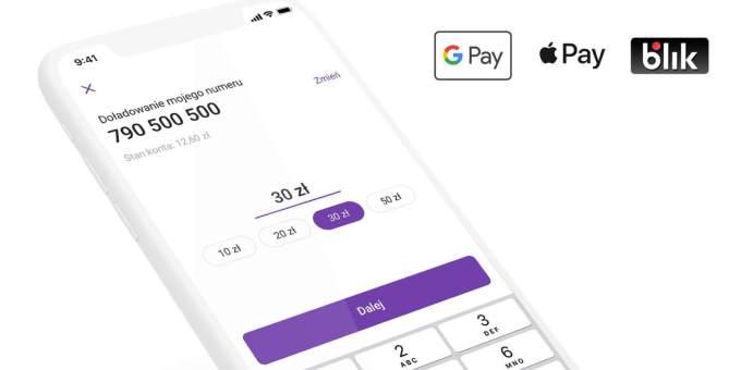 Apple Pay i GPay w aplikacji Play24