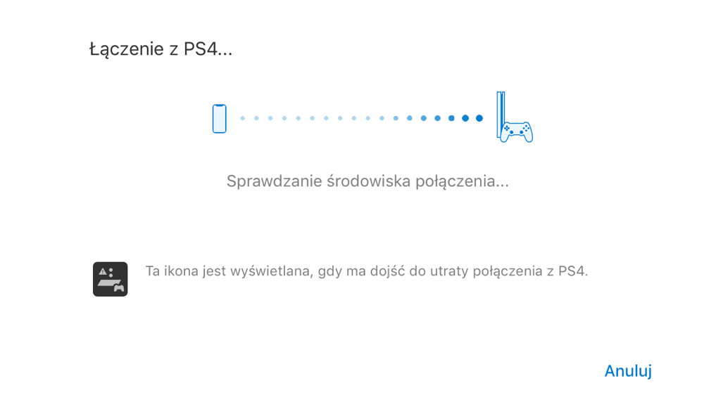 PS4 Remote Play (łączenie z konsolą)