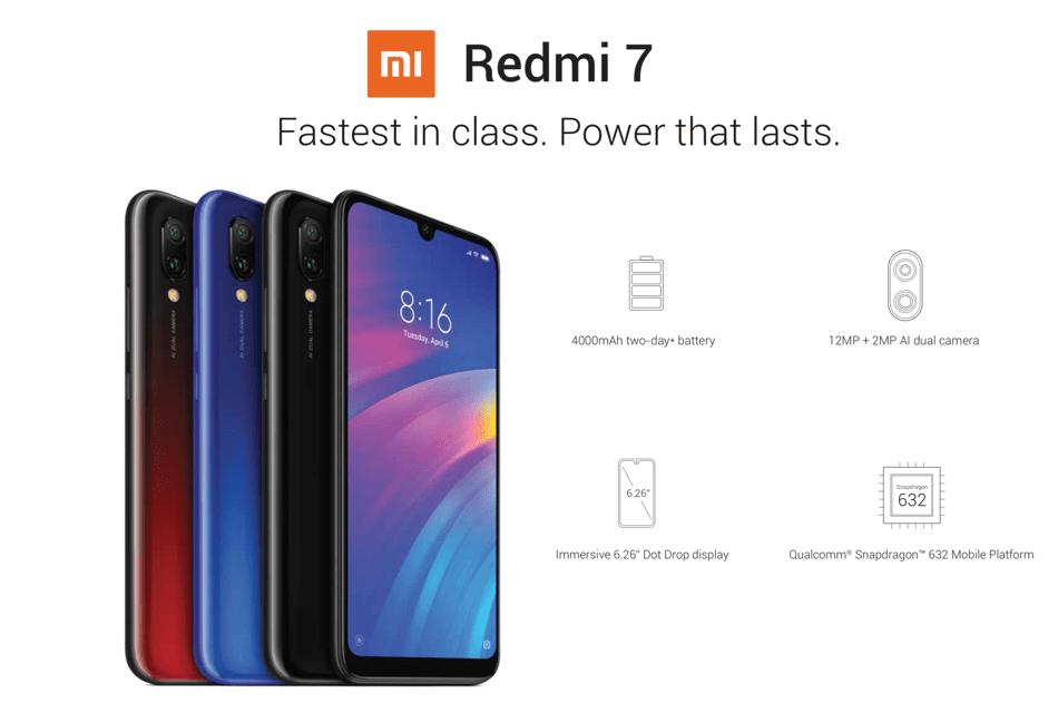 Redmi 7 (Xiaomi)