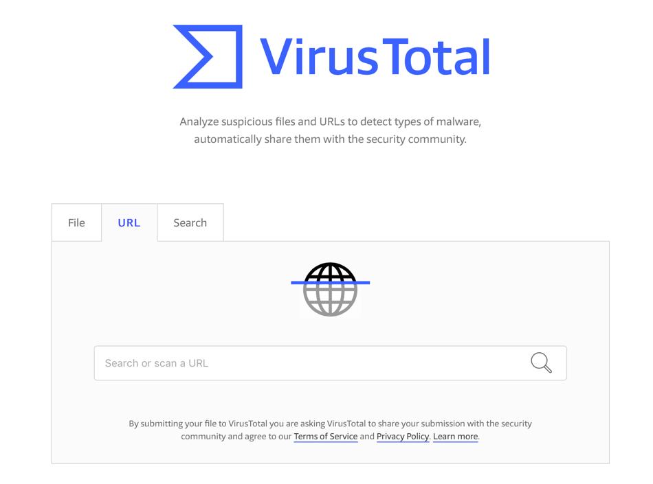 VirusTotal (screen)