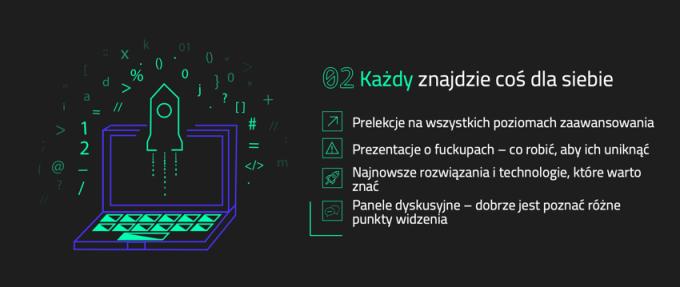 Zalety Warszawskich Dni Informatyki 2019