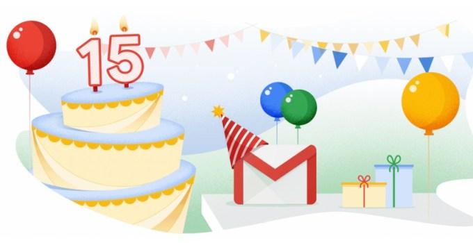 Gmail ma 15 lat