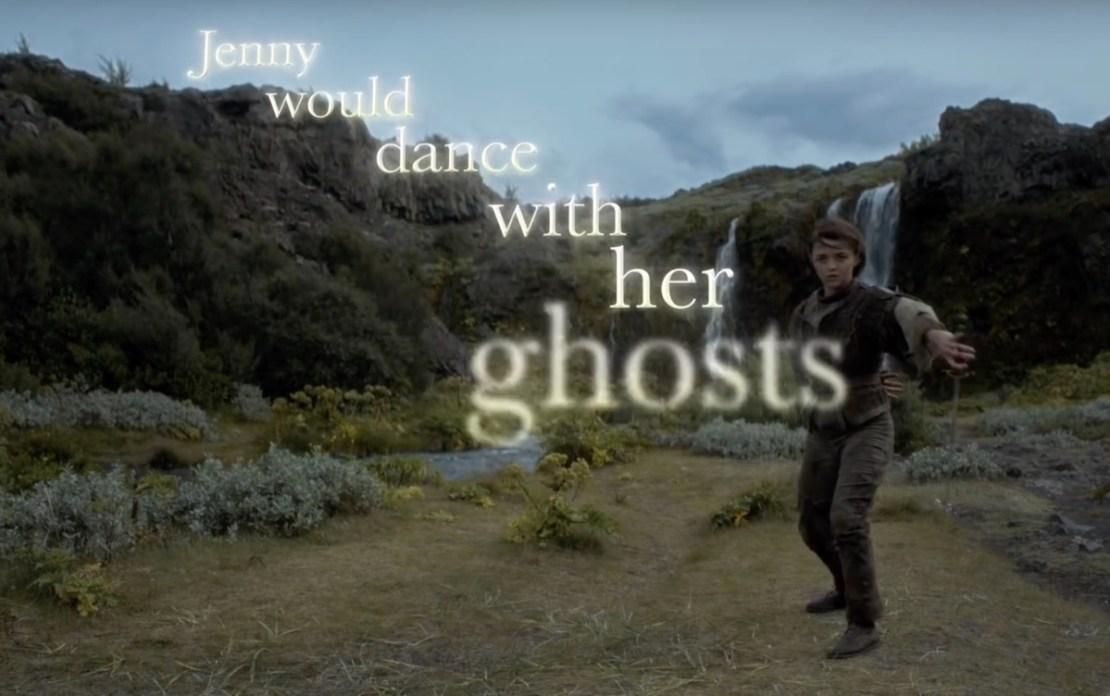 Jenny of Oldstones - kadr z wideoklipu