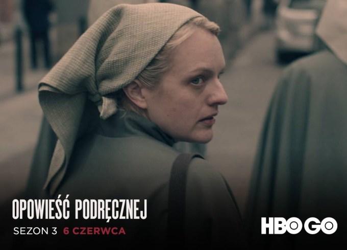 """3. sezon serialu """"Opowieść podręcznej"""" 6 czerwca 2019 r. w HBO GO"""