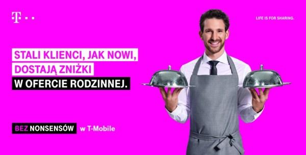 """T-Mobile startuje z ogólnopolską kampanią reklamową """"Bez nonsensów"""""""