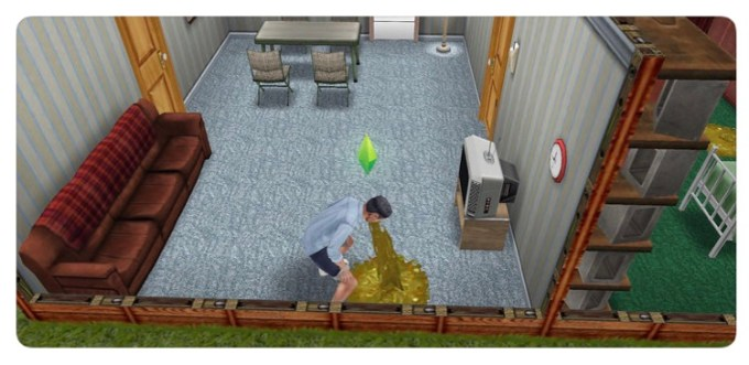 The Sims FreePlay (easter egg)