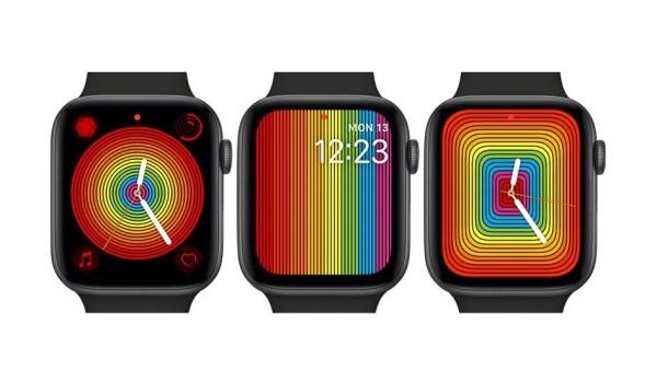 """Nowe tęczowe tarcze """"Pride"""" dla Apple Watcha"""
