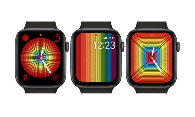 Tęczowe tarcze Pride 2019 dla Apple Watch