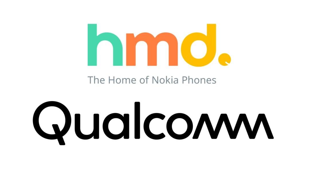HMD Global + Qualcomm (logo)