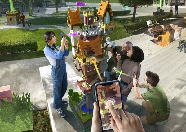 "Nowa gra AR ""Minecraft Earth"" na iOS-a i Androida w tym roku!"