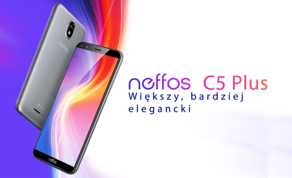 Neffos C5 Plus od TP-Link w nowym wydaniu