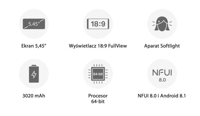 Najważniejsze parametry smartfona Neffos C9A