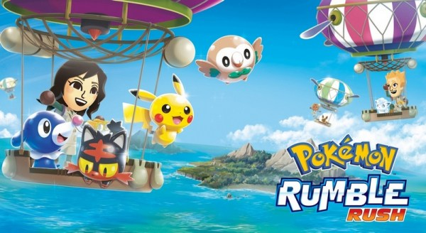 "Nowa gra mobilna ""Pokemon Rumble Rush"" od Nintendo!"