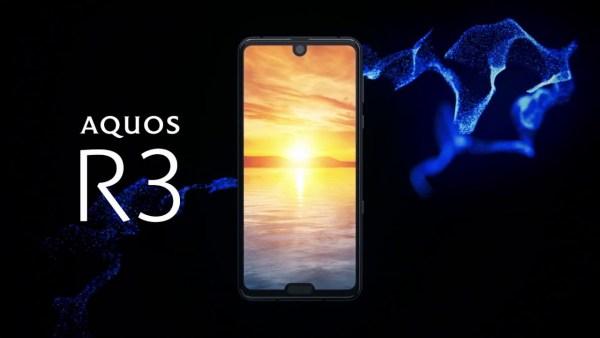 Smartfon Sharp AQUOS R3 zadebiutuje na europejskim rynku