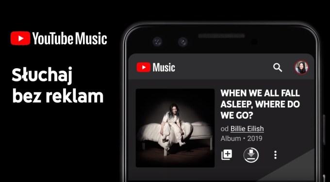 Aplikacja YouTube Music PL (bez reklam)