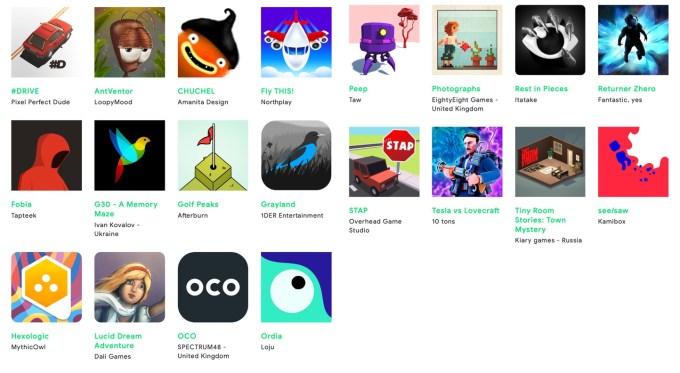 Google Play Indie Games Showcase Europe 2019 (lista finalistów)