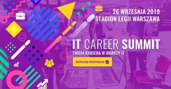 Informatyczne targi pracy 6. edycji IT Career Summit – ruszyła rejestracja!