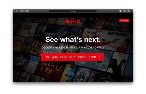 Kody do popularnych kategorii filmów i seriali w serwisie Netflix