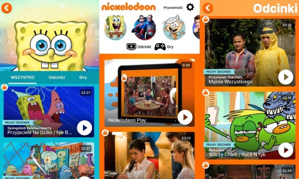 Aplikacja Nickelodeon Play już dostępna dla klientów Playa!