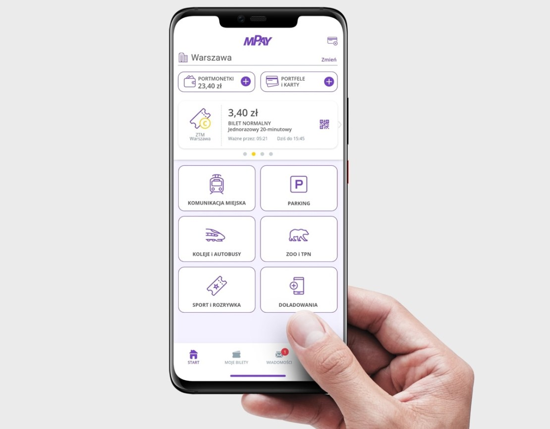 Nowy wygląd aplikacji mobilnej mPay
