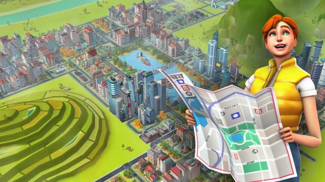 Screen z gry SimCity BuildIt