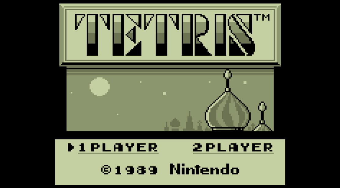 Tetris Game Boy Nintendo (1989) - screen