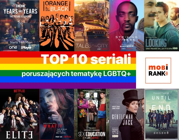 TOP 10 seriali, w których poruszono tematykę LGBT