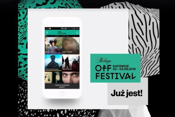 "Aplikacja mobilna ""OFF Festival 2019"" już dostępna do pobrania"