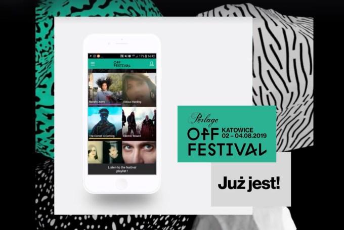 Aplikacja mobilna OFF Festival 2019