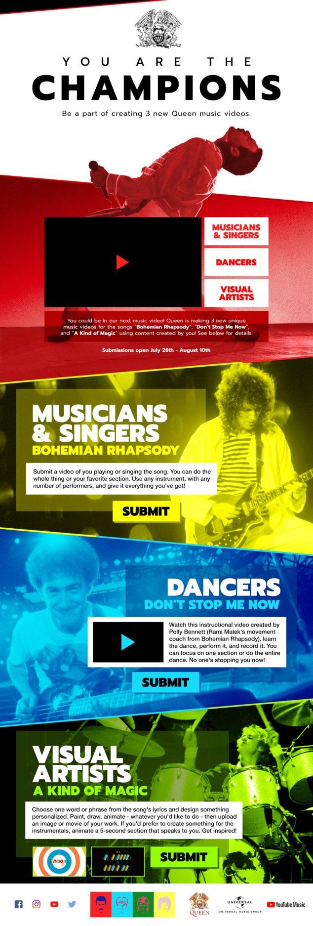 Bohemian Rhapsody – infografika YouTube