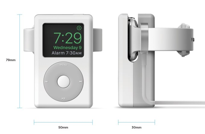 W6 Stand for Apple Watch - White