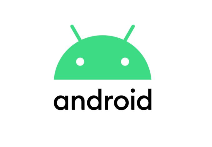 Nowe logo Android (2019) - głowa robota