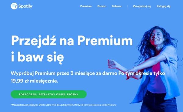 Teraz darmowe 3 miesiące Spotify Premium dla nowych użytkowników!