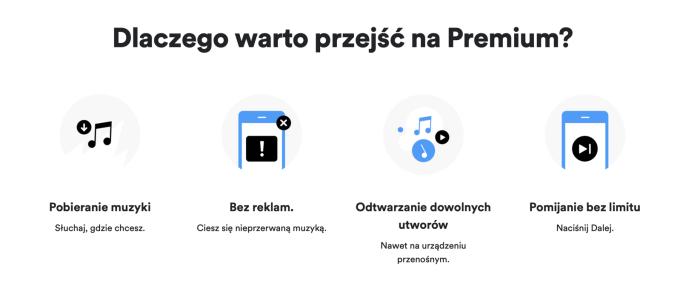 Dlaczego warto przejść na Spotify premium? (zalety usługi)